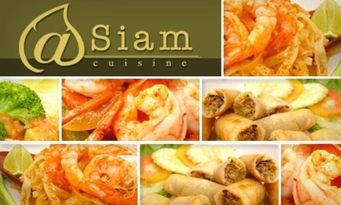 @Siam Cuisine - Northwest Berkeley: $10 for $25 Worth of Thai Fare at @Siam Cuisine