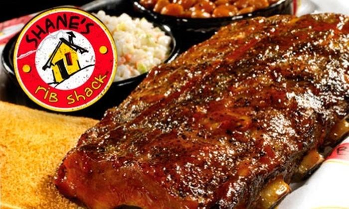 Shane's Rib Shack - Polaris: $10 for $20 Worth of Barbecue, Ribs, Wings, and More at Shane's Rib Shack