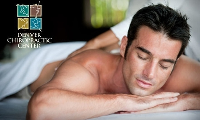 Denver Chiropractic Center - Virginia Village: $39 for One-Hour Massage and Soft-Tissue Treatment Session at Denver Chiropractic Center ($145 Value)