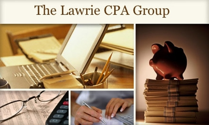 The Lawrie CPA Group - Perry: $45 for $90 Worth of Tax Prep Services at The Lawrie CPA Group