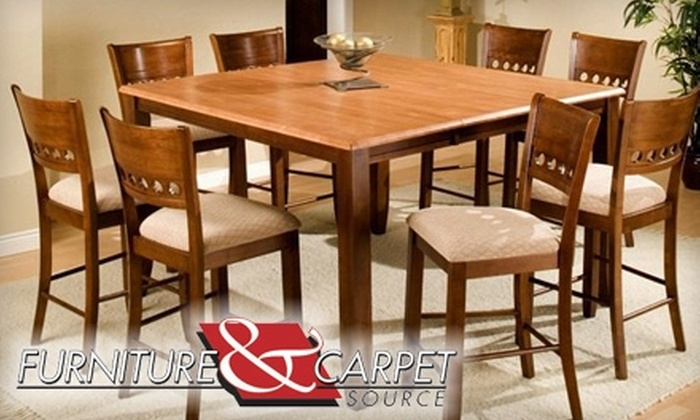 Furniture and Carpet Source - Chapel Hill: $35 for $125 Toward Home Furnishings at Furniture and Carpet Source