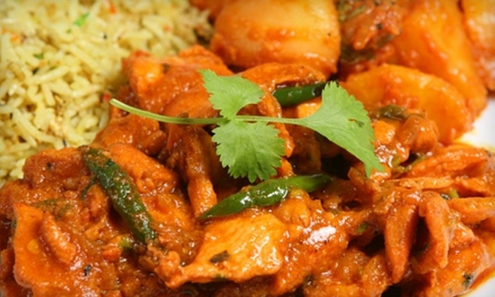 The Spice Jammer - Harris Green: $12 for $25 Worth of Indian Fare and Drinks for Dinner at The Spice Jammer (or $5 for $10 Worth of Lunch)