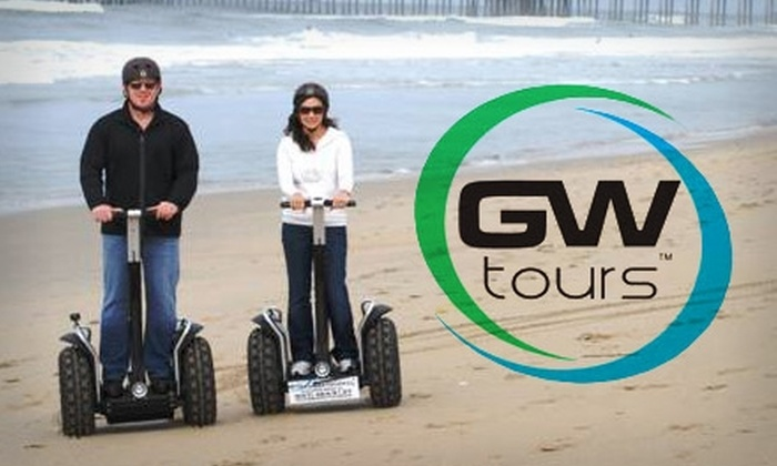 GW Tours - Downtown Huntington Beach: $37 for a 90-Minute Segway Beach Tour and Photo CD from GW Tours