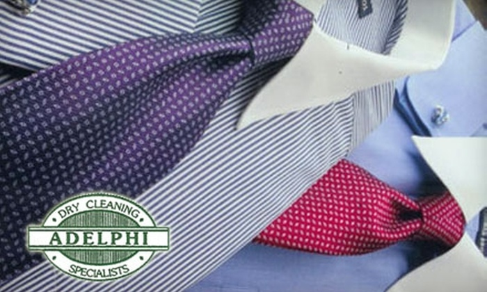Adelphi Cleaners - Multiple Locations: $15 for $30 Worth of Dry-Cleaning Services at Adelphi Cleaners