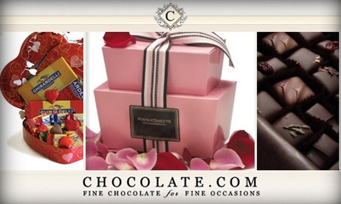 Chocolate.com - Charlotte: $10 for $20 Worth of Decadent Sweets at Chocolate.com