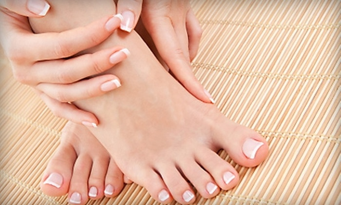 BeautyMuse Esthetics - Omaha: $45 for a Manicure, Pedicure, and Bottle of Nail Polish at BeautyMuse Esthetics at Salon Z Studios ($106 Value)