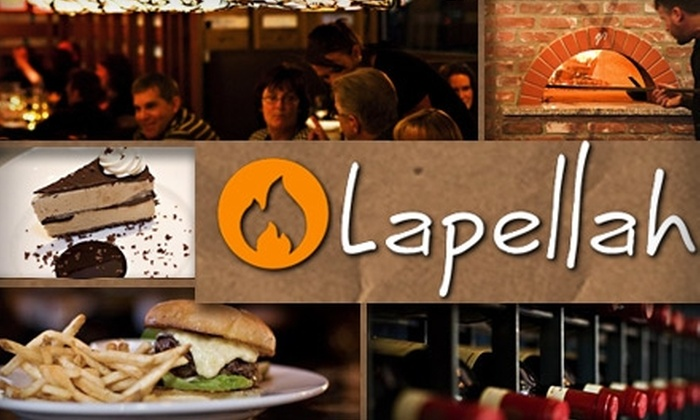 Lapellah - Hudson Bay: $15 for $35 Worth of Fire-Grilled Cuisine and Drinks at Lapellah
