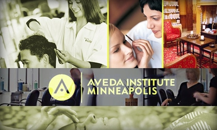 Aveda Institute - Marcy-Holmes: $25 for $50 Worth of Hair Care, Skin Care, Makeup Services, and More at Aveda Institute