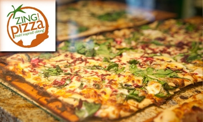 Zing! Pizza - Porter Square: $10 for $20 Worth of Fresh, Creative Pizza at Zing! Pizza