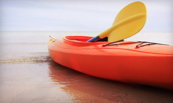 Moss Bay Rowing, Kayaking, Sailing and Paddle Board Center - Seattle: Single or Double Kayak or Paddleboard Rental from Moss Bay Rowing, Kayaking, Sailing and Paddle Board Center (Half Off)