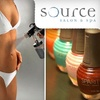 Up to 55% Off at Source Salon & Spa