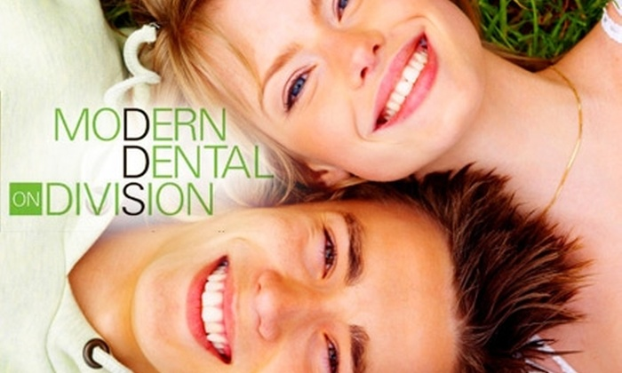 Modern Dental on Division - Wicker Park: $49 for an Exam, X-rays, and Cleaning from Modern Dental on Division ($253 Value)
