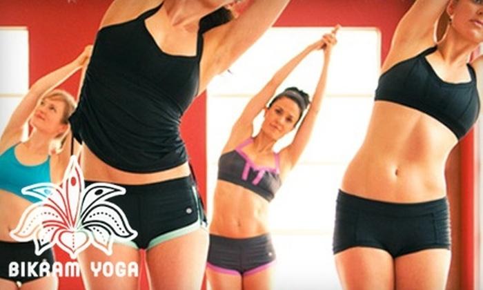 Bikram Yoga - Multiple Locations: $39 for a 10-Class Pass to Bikram Yoga ($120 Value)