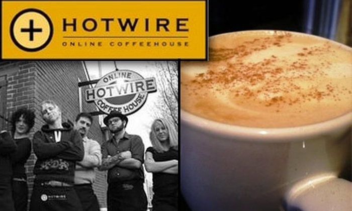 Hotwire Online Coffeehouse - Junction: $10 for $20 Worth of Coffee at Hotwire Online Coffeehouse