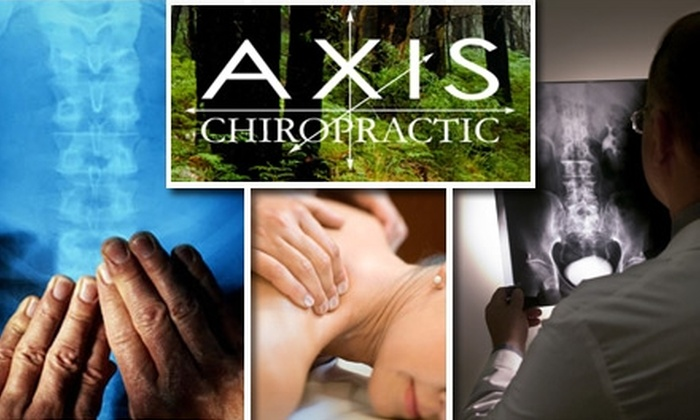 Axis Chiropractic - Multiple Locations: $50 for a Consultation, Exam, X-Rays, and 60-Minute Massage at Axis Chiropractic ($260 Value)