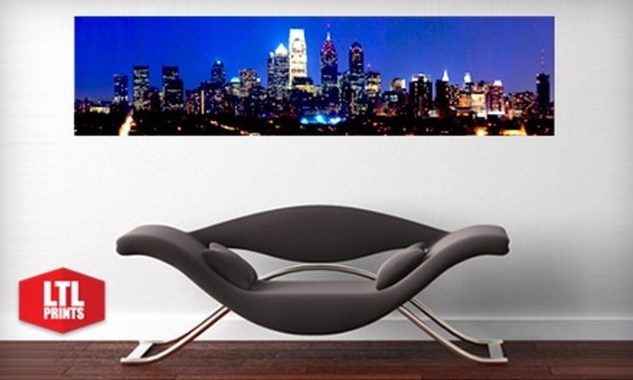 Larger Than Life Prints - Philadelphia: $35 for a Panoramic Wall Mural from Larger Than Life Prints