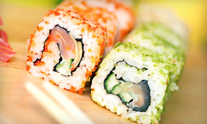 Zhuang's Garden - Lorane: Sushi, Hibachi, and Other Asian Fare for Two or Four at Zhuang's Garden in Exeter (Up to 53% Off). Two Options Available.