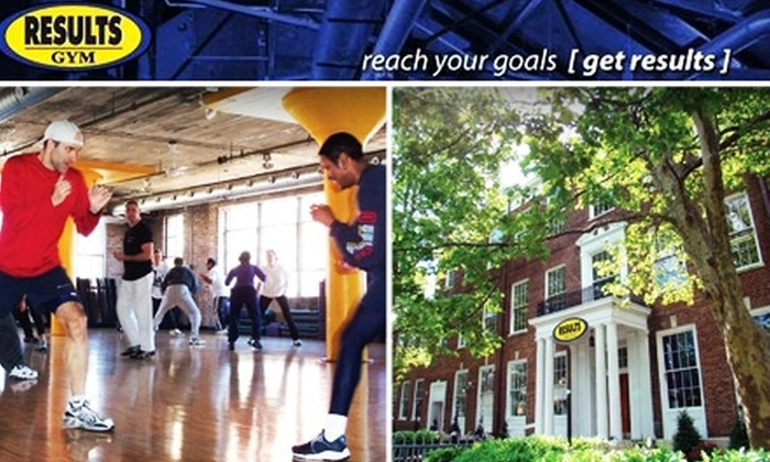 Results Gym - Multiple Locations: $75 for 10 Visit Punch Card to Results Gym