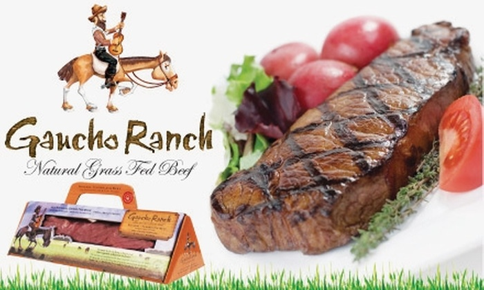 Gaucho Ranch - New York City: $25 for $50 Worth of Grass-fed Beef and More at Gaucho Ranch
