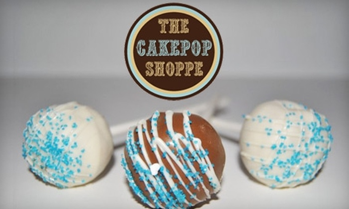 The Cakepop Shoppe - Peach Lake Manor: $12 for a Dozen Cakepops from The Cakepop Shoppe ($24 Value)