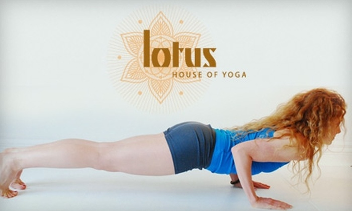 Lotus House of Yoga - Omaha: $20 for Five Yoga Classes at Lotus House of Yoga ($55 Value)