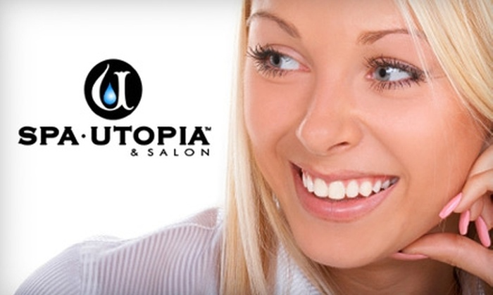 Spa Utopia - Multiple Locations: $39 for a Smile FX Teeth-Whitening Session at Spa Utopia ($79 Value)