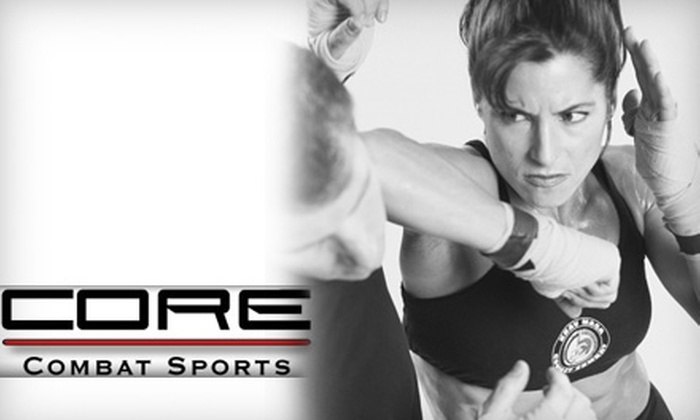 Core Combat Sports Center - East Louisville: $39 for 30 Days of Unlimited Krav Maga, CoreFit, Boxing, or Judo Classes at Core Combat Sports Center ($140 Value)
