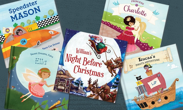 personalized story book from i see me groupon