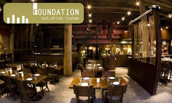 Foundation - Byward Market - Parliament Hill: $30 for $60 Worth of Upscale Casual Fare at Foundation