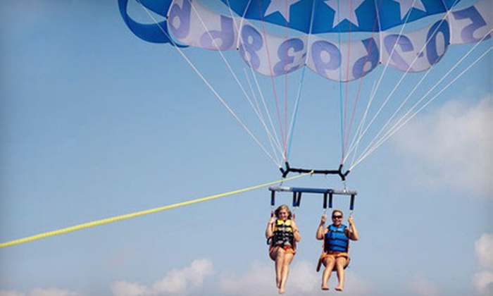 Goin' Coastal Parasailing - Multiple Locations: $70 for Parasailing Flight for Two at Goin' Coastal Parasailing ($150 Value)