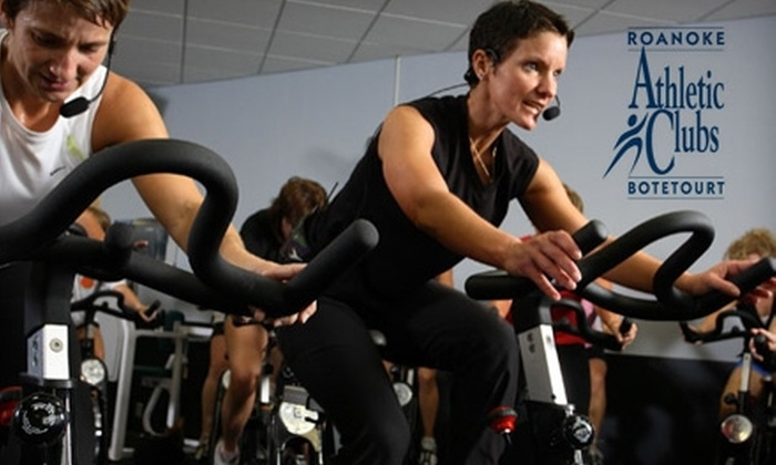 Roanoke/Botetourt Athletic Clubs - Multiple Locations: $34 for a One-Month Individual Membership ($69 Value) or $59 for a One-Month Family Membership ($112 Value), Plus $155–$215 Off Initiation Fee if Continuing at Roanoke/Botetourt Athletic Clubs