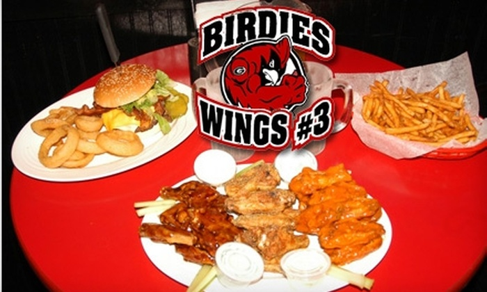 Birdies Wings #3 - Hiram: $10 for $20 Worth of Wings and More at Birdies Wings #3 in Hiram