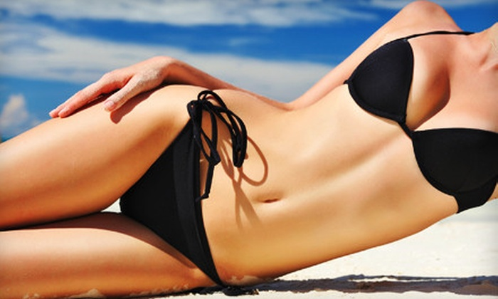 Perfect Airbrush - Beverly: $36 for Four Airbrush-Tanning Sessions at Perfect Airbrush in Beverly ($80 Value)