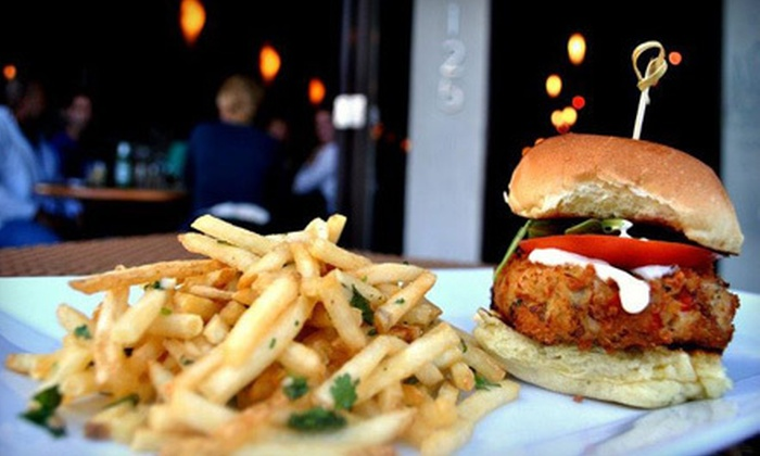 Gratify American Gastro Pub - Downtown West Palm Beach: Upscale Pub Fare for Two or Four at Gratify American Gastro Pub in West Palm Beach (Up to 55% Off)