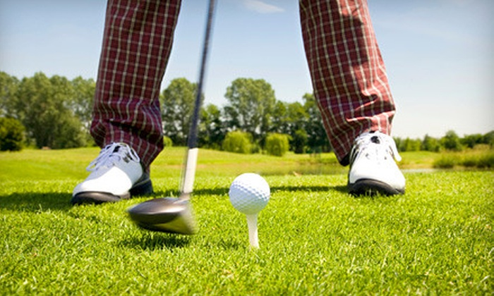 Davis Golf Course - Davis: Golf Outing with Cart and Range Balls for Two or Two Private Lessons at Davis Golf Course in Davis (Up to 51% Off)