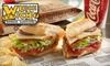 Which Wich - Northwest Side: $6 for $12 Worth of Customizable Sandwiches at Which Wich