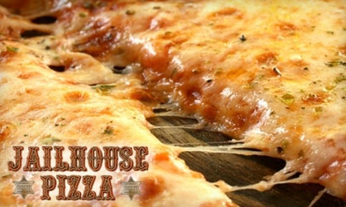 Jailhouse Pizza - Brandenburg: $10 for $25 Worth of Casual Italian Fare and Drinks at Jailhouse Pizza in Brandenburg