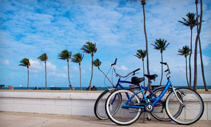 Grease Monkeys - Downtown,Port of Miami,Miami Government District: Two-Hour or Full-Day Bike Rental from Grease Monkeys (Half Off)