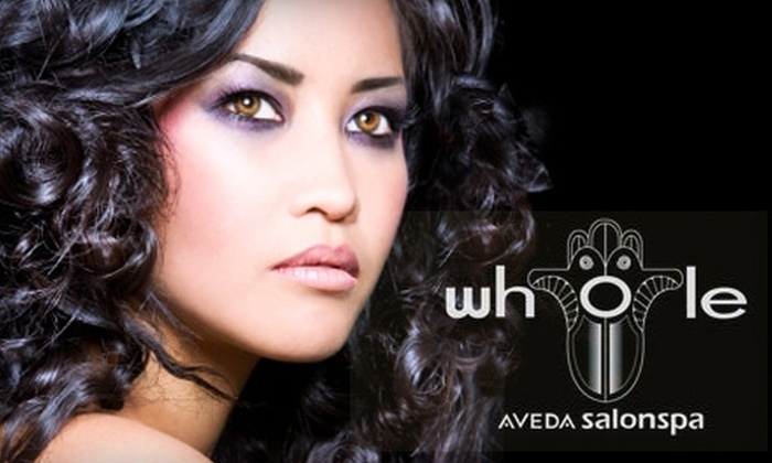 Whole Aveda SalonSpa - Oldsmar: $35 for a One-Hour Body Treatment of Your Choice at Whole Aveda SalonSpa in Oldsmar