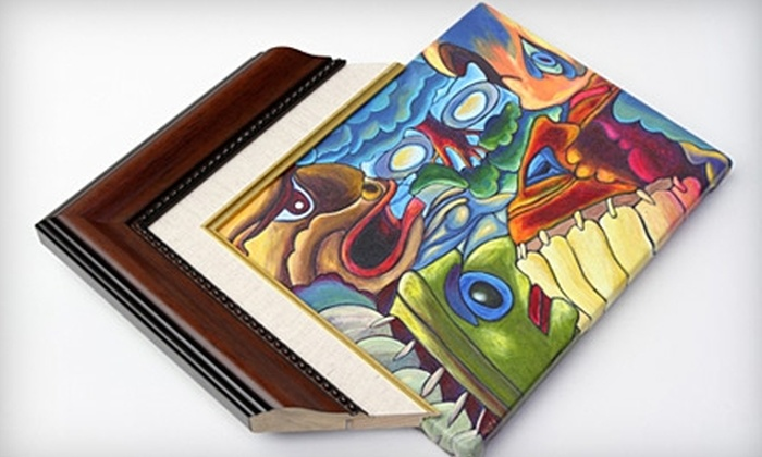 Dallas on Canvas: $75 for $150 Worth of Custom Framing at Dallas on Canvas
