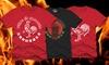 Sriracha-Themed Men's T-shirts: Sriracha-Themed Men's T-shirts. Multiple Designs Available. Free Returns.