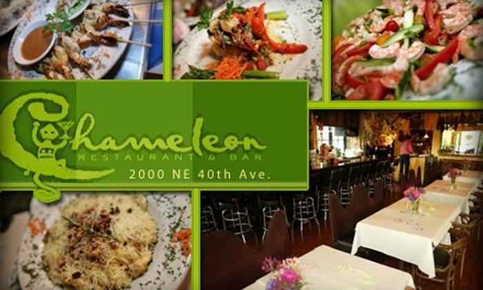 Chameleon Restaurant & Bar - Hollywood: $15 for $35 Worth of Imaginative Cuisine and Drinks at Chameleon Restaurant & Bar