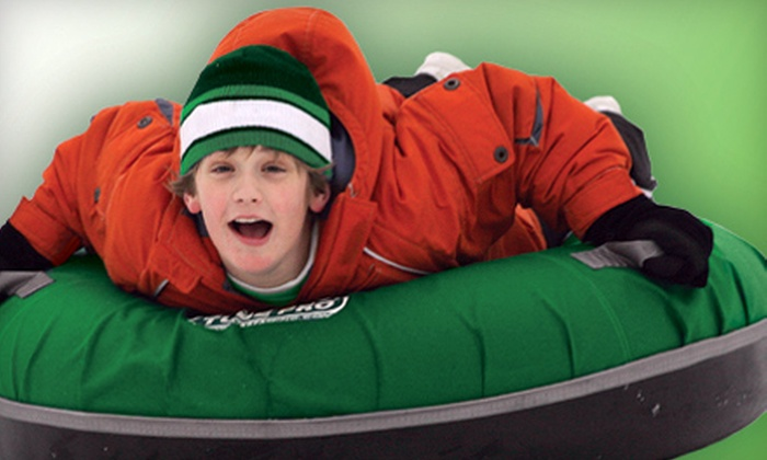 Adrenaline Adventures - Westdale: Snow Tubing or Xorb Rides at Adrenaline Adventures (Up to 52% Off). Three Options Available.