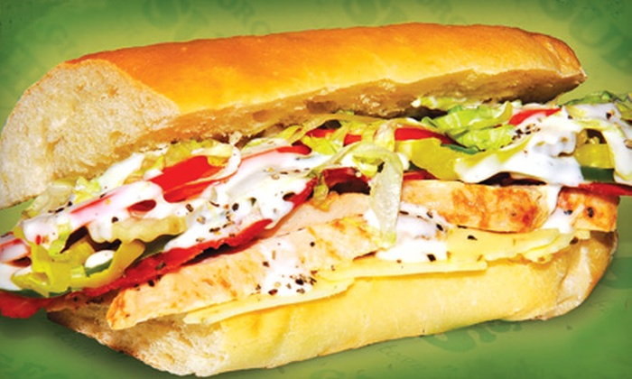Georgio's Subs - Sandy: $15 for Four Sub Sandwiches at Georgio's Subs in Sandy (Up to $32.05 Value)