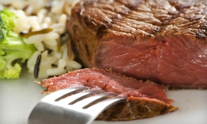 Harvey's Steakhouse - Huntington Beach: $20 for $40 Worth of Steak-House Fare and Drinks at Harvey's Steakhouse in Huntington Beach