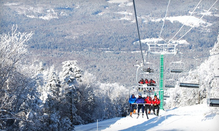 Burke Mountain Resort - Burke: $42 for a Full Day of Skiing at Burke Mountain Resort in East Burke (Up to $68 Value)