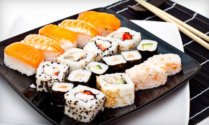 Crazy Fire Mongolian Grill - Northwest Raleigh: $10 for $20 Worth of Sushi at Crazy Fire Mongolian Grill
