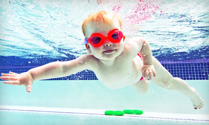 Hubbard Family Swim School - Multiple Locations: $35 for One Month of Children's Swimming Classes at Hubbard Family Swim School ($78 Value)