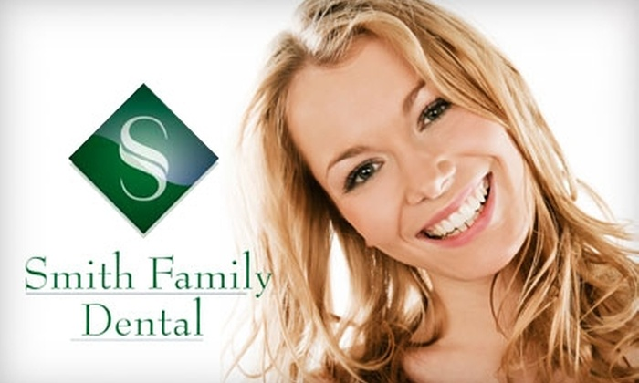 Smith Family Dental - Murray: $59 for Exam, Full Set of X-rays, and Take-Home Teeth-Whitening Kit at Smith Family Dental ($289 Value)