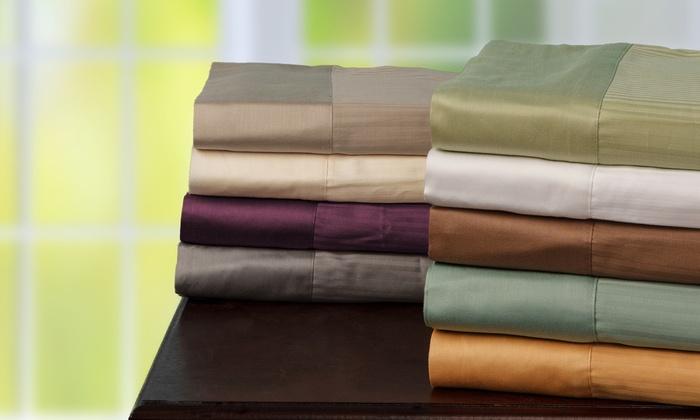 500tc Egyptian Cotton Sheet Set Groupon Goods